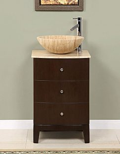 Small Bathroom Vanities With Vessel Sinks : Many modern bathroom vanities feature the vessel sink look. The sinks ...